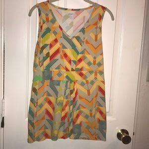 NWOT multicolored blouse